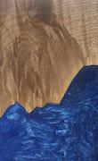 Vallipuram - iPhone 8 Plus Wood+Resin Case - Vallipuram (Dark Blue, 114497)
