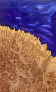 Vicente - Pixel 3a XL Wood+Resin Case - Vicente (Purple, 103469)
