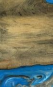 Wilhelmine - iPhone Xs Max Wood+Resin Case - Wilhelmine (Light Blue, 070002)