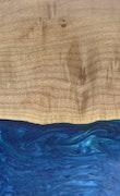 Zafer - iPhone 11 Pro Max Wood+Resin Case - Zafer (Dark Blue, 117110)